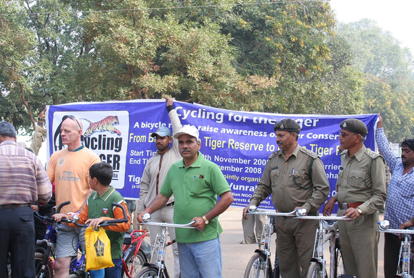 Cycling for the Tiger