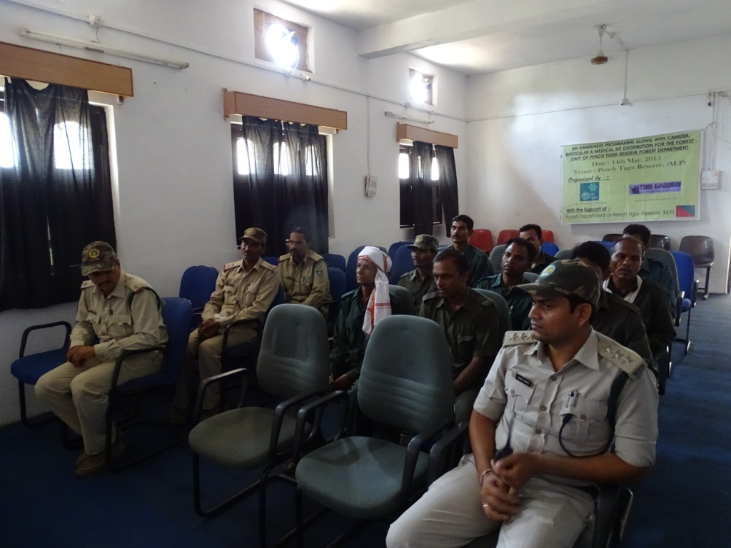 Equipment Support For Forest Staff in Pench saving tiger